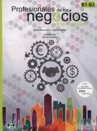 Profesionales de los negocios(B1-B2 Curso de espanol - okładka podręcznika