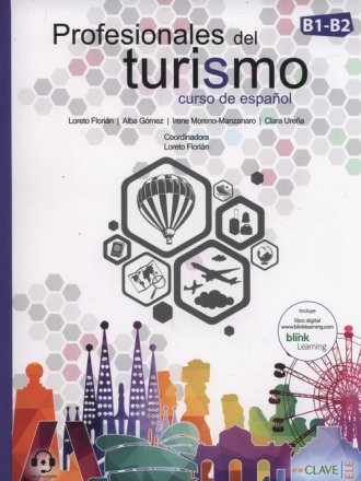 Profesionales del turismo B1-B2 - okładka podręcznika