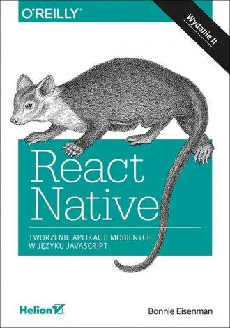 React Native. Tworzenie aplikacji - okładka książki