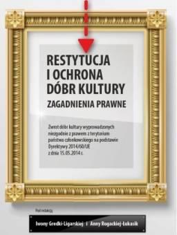 Restytucja i ochrona dóbr kultury. - okładka książki