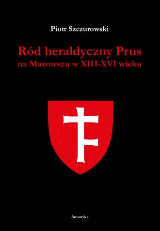 Ród heraldyczny Prus na Mazowszu - okładka książki
