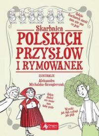 Skarbnica polskich przysłów i rymowanek - okładka książki