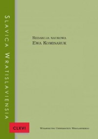 Slavica Wratislaviensia CLXVI - okładka książki