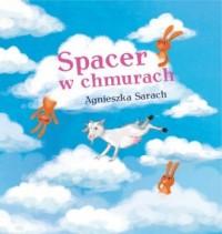 Spacer w chmurach - okładka książki