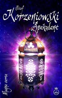 Spekulant - okładka książki