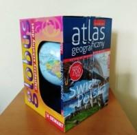 Szkolny atlas geograficzny z globusem - okładka książki