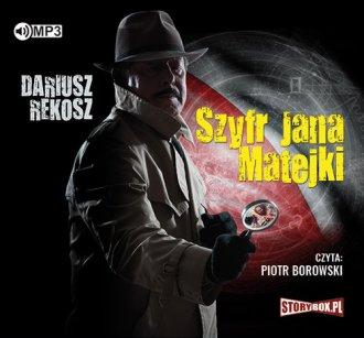 Szyfr Jana Matejki - pudełko audiobooku
