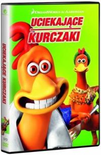 Uciekające kurczaki DVD - okładka filmu