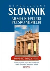 Współczesny słownik niemiecko-polski polsko-niemiecki - okładka książki