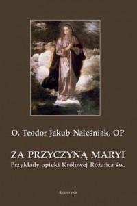Za przyczyną Maryi. Przykłady opieki Królowej Różańca św. - okładka książki