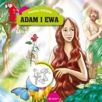 Adam i Ewa. Książeczka z kolorowankami - okładka książki