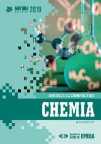 Chemia. Matura 2019. Arkusze egzaminacyjne - okładka podręcznika