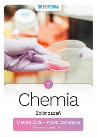 Chemia zbiór zadań Matura 2019. - okładka podręcznika