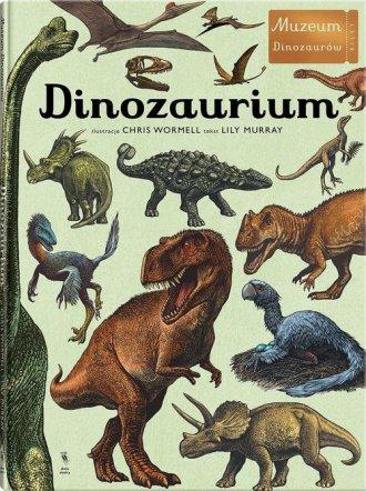 Dinozaurium - okładka książki