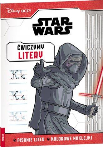Disney Uczy Star Wars Ćwiczymy - okładka książki