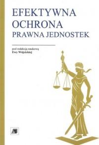 Efektywna ochrona prawna jednostek. Uwarunkowania, wyzwania, perspektywy - okładka książki