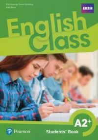 English Class A2+. Szkoła podstawowa. Podręcznik wieloletni - okładka podręcznika