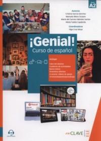 Genial! A2 Curso de espanol - okładka podręcznika