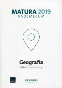 Geografia. Matura 2019. Vademecum. Zakres rozszerzony - okładka podręcznika