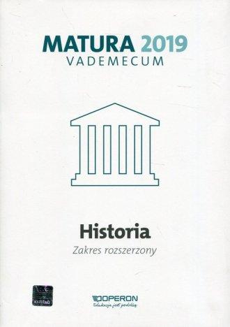 Historia. Matura 2019. Vademecum. - okładka podręcznika