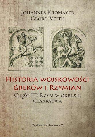 Historia wojskowości Greków i Rzymian - okładka książki