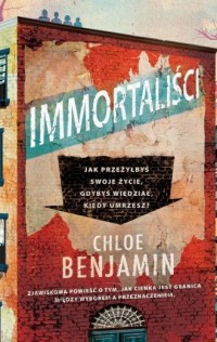 Immortaliści - okładka książki
