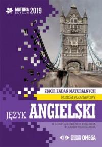 Język angielski. Matura 2019. Zbiór zadań maturalnych. Poziom podstawowy - okładka podręcznika