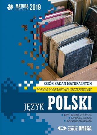 Język polski. Matura 2019. Zbiór - okładka podręcznika