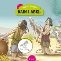 Kain i Abel. Książeczka z kolorowankami - okładka książki