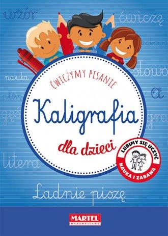 Kaligrafia dla dzieci - okładka podręcznika