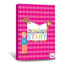 Kolorowy start 5 i 6-latki Box. - okładka podręcznika