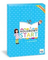 Kolorowy start z plusem Sześciolatek - okładka podręcznika