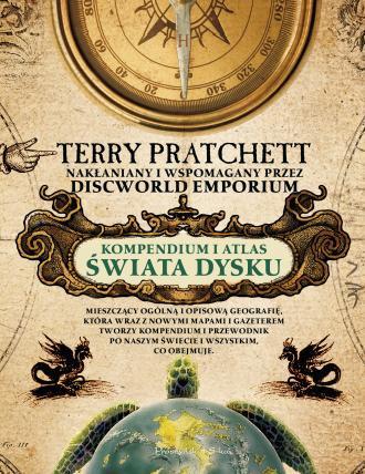 Kompendium i Atlas Świata Dysku - okładka książki