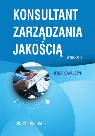 Konsultant zarządzania jakością - okładka książki