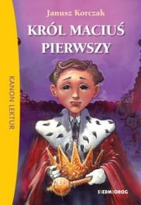 Król Maciuś Pierwszy - okładka podręcznika