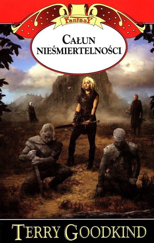 Kroniki Nicci. Tom 2. Całun nieśmiertelności - okładka książki