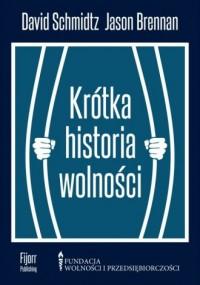 Krótka historia wolności - okładka książki