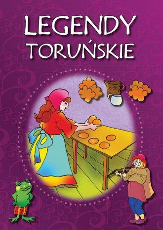 Legendy toruńskie - okładka książki