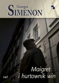 Maigret i hurtownik win - okładka książki