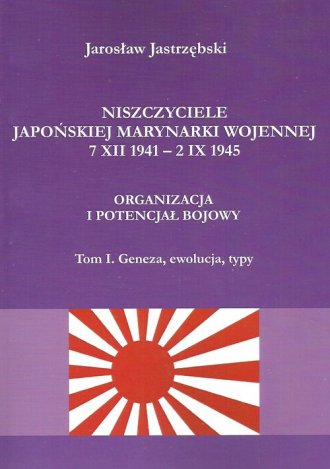 Niszczyciele Japońskiej Marynarki - okładka książki