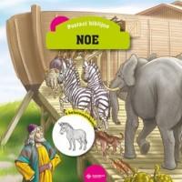 Noe. Książeczka z kolorowankami - okładka książki