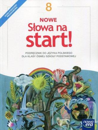 Nowe słowa na start! 8. Szkoła - okładka podręcznika