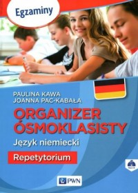 Organizer ósmoklasisty. Język niemiecki Repetytorium - okładka podręcznika
