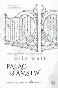 Pałac kłamstw - okładka książki