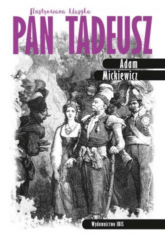 Pan Tadeusz. Ilustrowana klasyka - okładka podręcznika