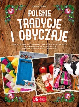 Polskie tradycje i obyczaje - okładka książki