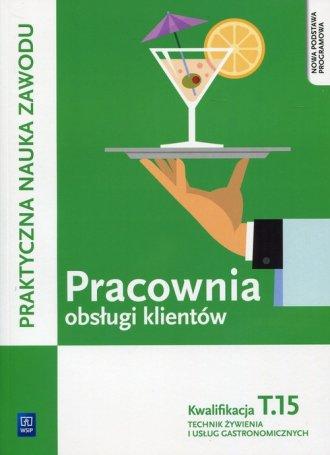 Pracownia obsługi klientów Kwalifikacja. - okładka podręcznika