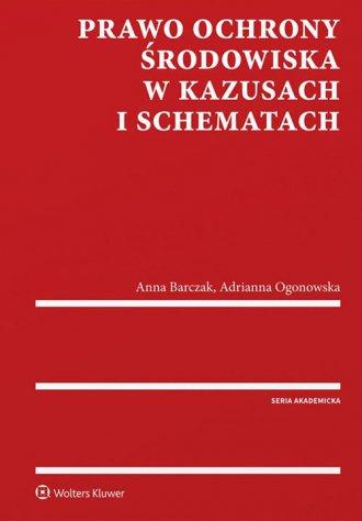 Prawo ochrony środowiska w kazusach - okładka książki