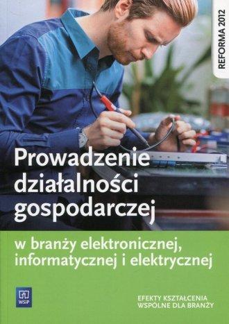 Prowadzenie działalności gospodarczej - okładka podręcznika