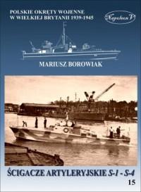 Ścigacze artyleryjskie S-1 - S-4 - okładka książki